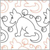Quilting-4-Pawz-Dogz-quilting-pantograph-pattern-Patricia-Ritter-Urban-Elementz