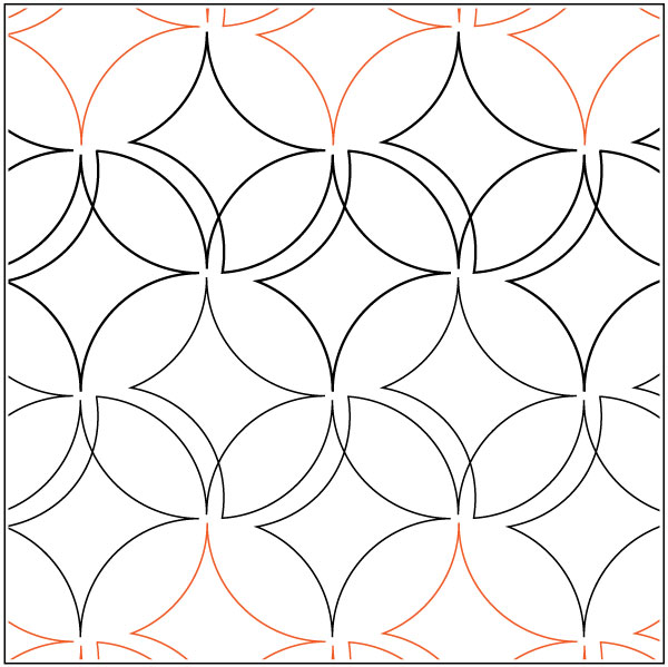 Easy-Orange-Peel-quilting-pantograph-pattern-Patricia-Ritter-Urban-Elementz