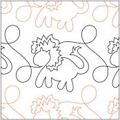 Animal-Crackers-Border-Lions-quilting-pantograph-pattern-Patricia-Ritter-Urban-Elementz