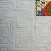 Bauhaus Baby quilting pantograph pattern by Patricia Ritter of Urban Elementz 2