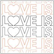 Love-Is-Love-quilting-pantograph-pattern-Patricia-Ritter-Urban-Elementz