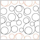 Whole-Lotta-Bubbles-Border-quilting-pantograph-pattern-Patricia-Ritter-Urban-Elementz