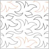 INVENTORY REDUCTION...Zest quilting pantograph pattern by Patricia Ritter of Urban Elementz