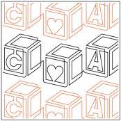 Baby-Blocks-Border-quilting-pantograph-pattern-Patricia-Ritter-Urban-Elementz-1