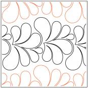 INVENTORY REDUCTION...Brioche quilting pantograph pattern by Patricia Ritter of Urban Elementz