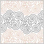 Hocus Pocus quilting pantograph pattern by Patricia Ritter of Urban Elementz 1