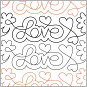 Love-Notes-quilting-pantograph-pattern-Patricia-Ritter-Urban-Elementz