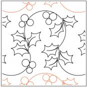 A Merry Lil Christmas quilting pantograph pattern by Patricia Ritter of Urban Elementz