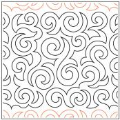 Atlantic quilting pantograph pattern by Patricia Ritter and Denise Schillinger
