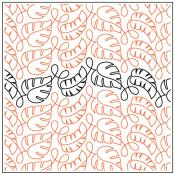 Cozumel quilting pantograph pattern by Patricia Ritter and Denise Schillinger 1