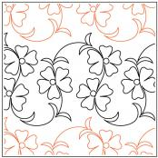 INVENTORY REDUCTION...Kauai quilting pantograph pattern by Patricia Ritter Urban Elementz 1