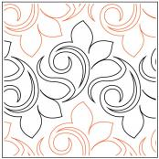 Kismet quilting pantograph pattern by Patricia Ritter and Denise Schillinger