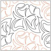 Merlot quilting pantograph pattern by Patricia Ritter and Denise Schillinger