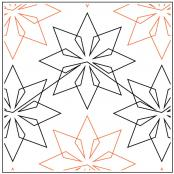 INVENTORY REDUCTION...Origami quilting pantograph pattern by Patricia Ritter and Denise Schillinger