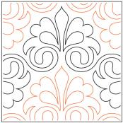 Penelope quilting pantograph pattern by Patricia Ritter and Denise Schillinger