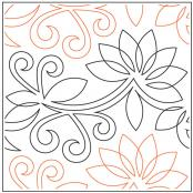 Queen Ann's Lace quilting pantograph pattern by Patricia Ritter and Denise Schillinger