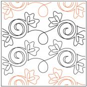 Sugar Baby quilting pantograph pattern by Patricia Ritter and Denise Schillinger