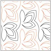 Thyme quilting pantograph pattern by Patricia Ritter and Denise Schillinger