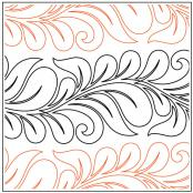 Topaz Petite quilting pantograph pattern by Patricia Ritter Urban Elementz
