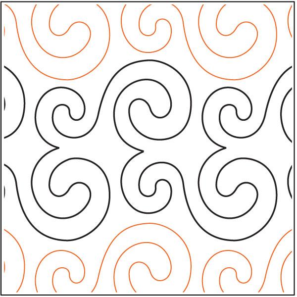 Beaded-Curtain-quilting-pantograph-pattern-Barbara-Becker
