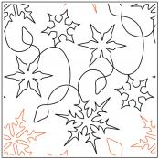 Barbara's Winter Wonderland quilting pantograph pattern by Barbara Becker