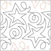 Becker's Shooting Star pantograph pattern by Barbara Becker