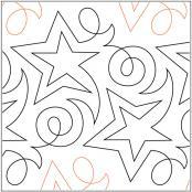 Becker's Shooting Star pantograph pattern by Barbara Becker