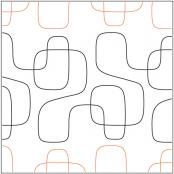 INVENTORY REDUCTION...Modernish #1 pantograph pattern by Barbara Becker