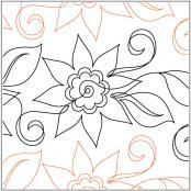 Aquilegias-Flower-pantograph-pattern-Jessica-Schick