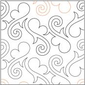 Hearts-Gone-Wild-quilting-pantograph-sewing-pattern-Lisa-Calle