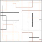 Contempo quilting pantograph pattern by Lorien Quilting