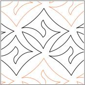 Dazzle-quilting-pantograph-pattern-Lorien-Quilting