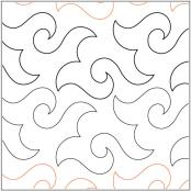 Happy Times quilting pantograph pattern by Lorien Quilting