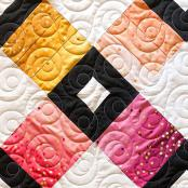 Mod Dotz quilting pantograph sewing pattern by Patricia Ritter of Urban Elementz 1