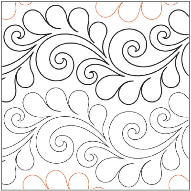 Deja Vu Pantograph Pattern By Patricia Ritter And Valerie