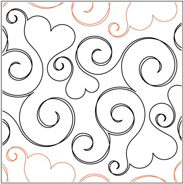 Smitten-pantograph-quilting-pattern-Patricia-Ritter-Valerie-Smith