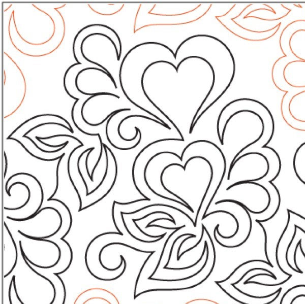 Sonnet Panto/Corner SET pantograph pattern by Patricia Ritter and Valerie Smith