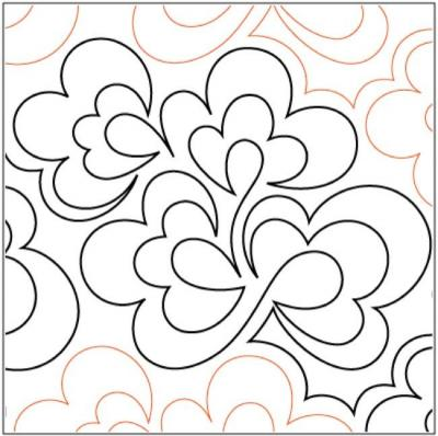 Cottonwood-pantograph-quilting-pattern-Patricia-Ritter-Valerie-Smith
