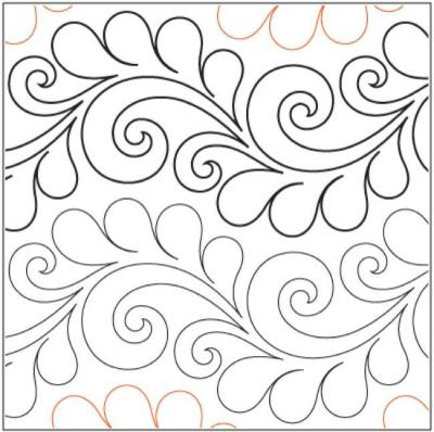 Deja Vu pantograph pattern by Patricia Ritter and Valerie Smith