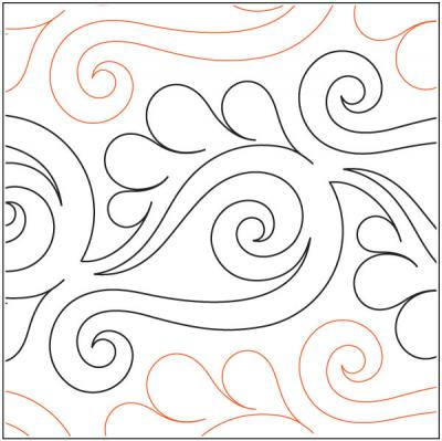 Vogue pantograph pattern by Patricia Ritter and Valerie Smith