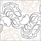 Flamenco-pantograph-quilting-pattern-Patricia-Ritter-Valerie-Smith