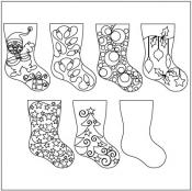 Home-for-the-Holidays-Stocking-Set-4-pantograph-quilting-pattern-Patricia-Ritter-Valerie-Smith-1