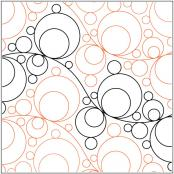Lather Rinse Repeat pantograph pattern by Patricia Ritter and Valerie Smith 2