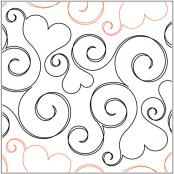 Smitten pantograph pattern by Patricia Ritter and Valerie Smith