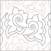 Somersault-pantograph-quilting-pattern-Patricia-Ritter-Valerie-Smith