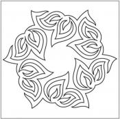 Sonnet-Block-3-pantograph-quilting-pattern-Patricia-Ritter-Valerie-Smith