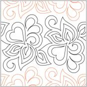 Sonnet-Petite-pantograph-quilting-pattern-Patricia-Ritter-Valerie-Smith