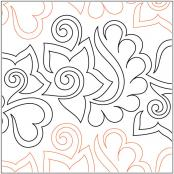 Tickled-Pink-pantograph-quilting-pattern-Patricia-Ritter-Valerie-Smith