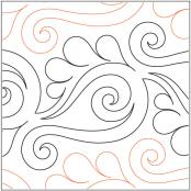 Vogue-pantograph-quilting-pattern-Patricia-Ritter-Valerie-Smith