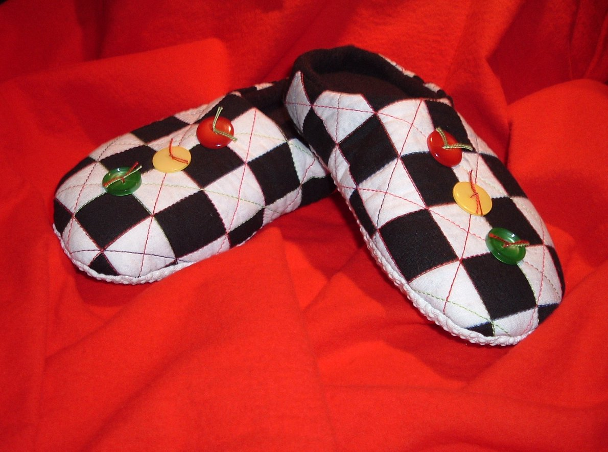 Pattern Review: Softies Slippers by Timber Lane Press at at ... : quilted slippers pattern - Adamdwight.com